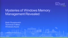 Mysteries of Windows Memory Management Revealed with Mark Russinovich, Part 1