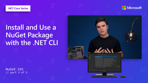 Install and Use a NuGet Package with the .NET CLI [3 of 5]