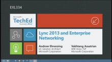 Lync 2013 and Enterprise Networking