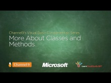 More about Classes and Methods - 15
