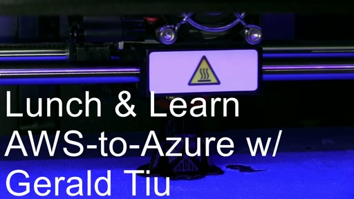 @MSFTReactor - Gerald Tiu - AWS to Azure: What Maps to What?