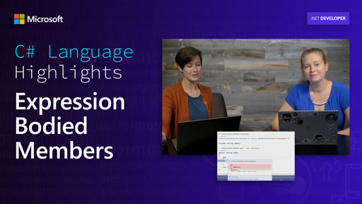 C# Language Highlights: Expression Bodied Members