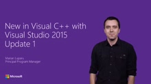 What's new in Visual C++ with Visual Studio 2015 Update 1