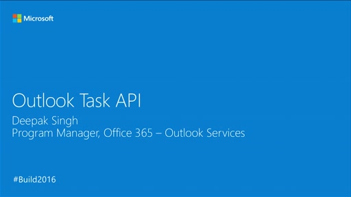 Introducing Outlook Tasks in the Outlook Direct Endpoint