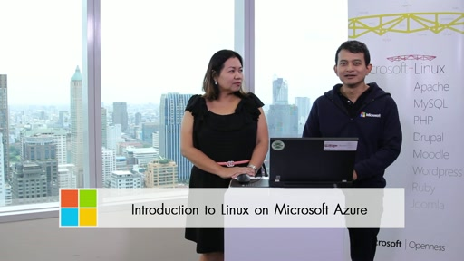Introduction to Linux on Microsoft Azure in Thai
