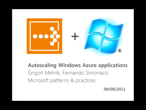 Autoscaling Windows Azure applications
