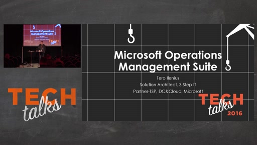 Tech Talks 2016 F5 Stage Microsoft Operations Management Suite