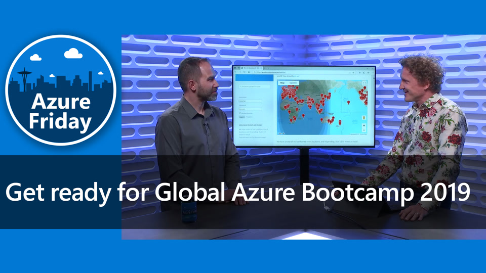 Get ready for Global Azure Bootcamp 2019