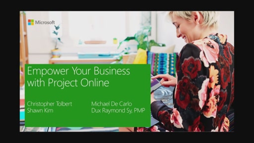 2016-06-03 Empower Your Business with Project Online