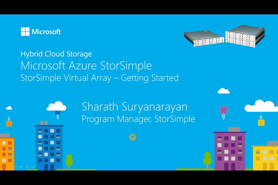Get Started with the StorSimple Virtual Array