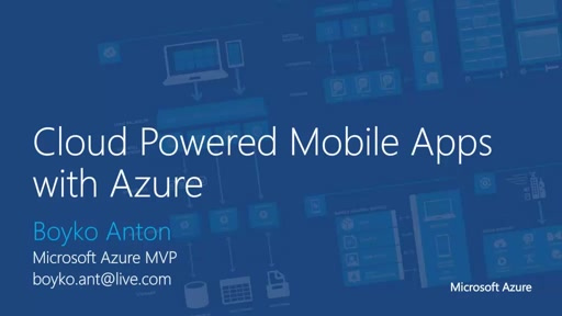 01 | Azure overview for Android & iOS developers
