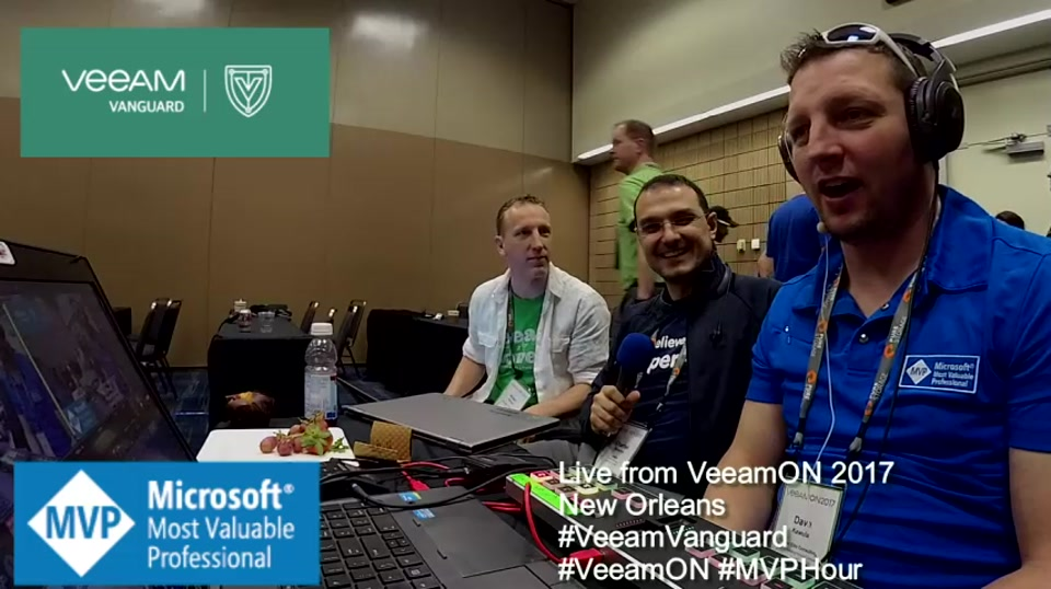 Episode 71 - Interview with Charbel Nemnom at VeeamOn 2017