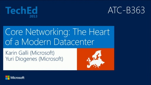 Core Networking: The Heart of a Modern Datacenter