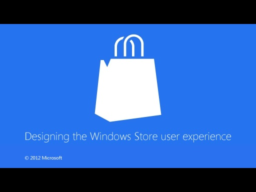 Designing the Windows Store user experience