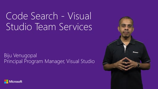 Visual Studio Team Services Code Search