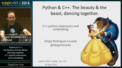 """CppCon 2016: """"Introduction to C++ python extensions and embedding Python in C++ Apps"""""""