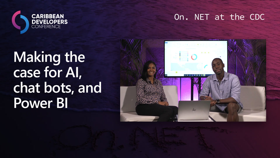 Making the case for AI, chat bots, and Power BI