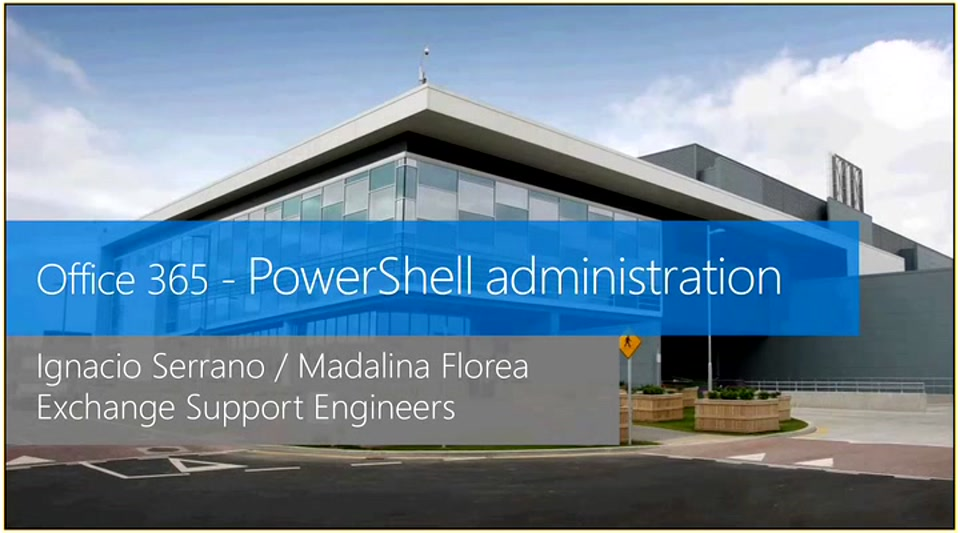 Administración de Office365 con PowerShell