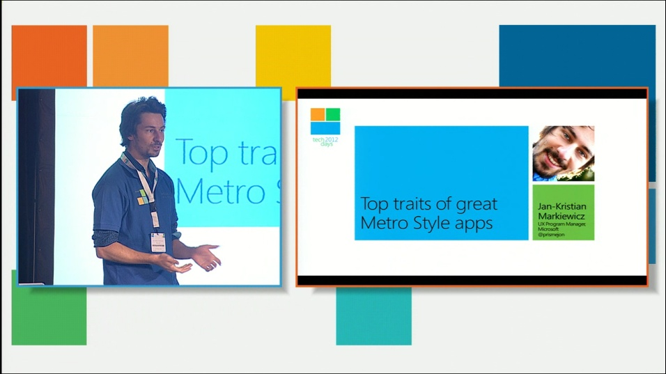 Top traits of great Metro Style apps – designing touch-optimized apps that also work great for mouse and keyboard!
