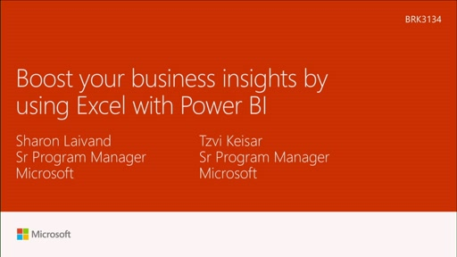 Boost your business insights by using Excel with Power BI