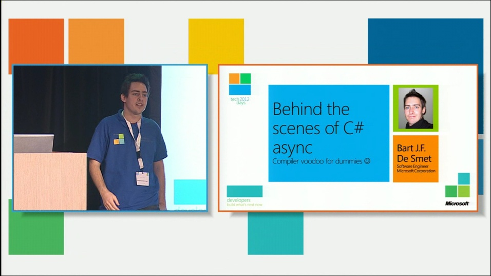 "Behind the scenes of C# 5.0 and Visual Basic 11 ""async"""
