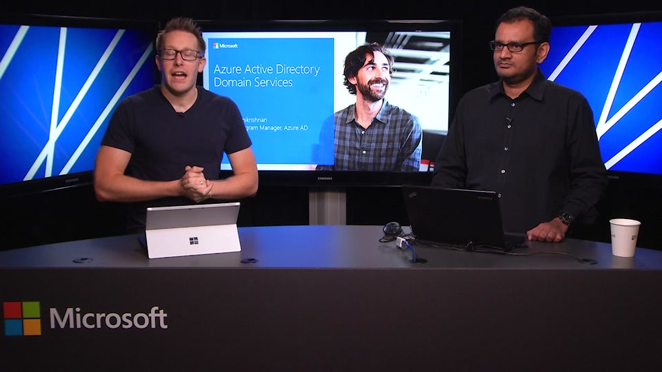 Azure AD and Identity Show: Azure AD Domain Services Preview