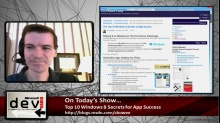 Microsoft DevRadio: Top 10 Windows 8 Secrets for App Success
