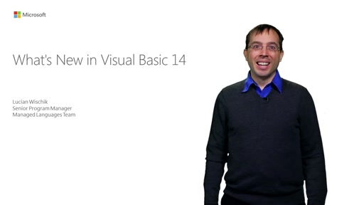 What's New in Visual Basic 14