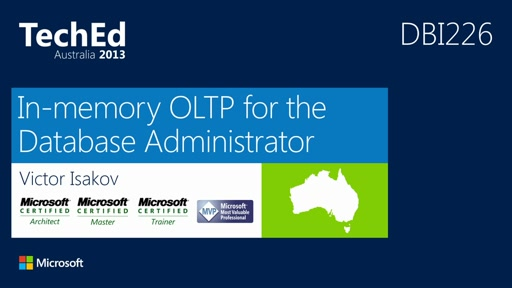 In-memory OLTP for the DBA