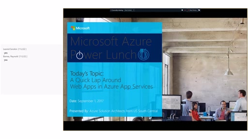 Web Apps in Azure App Services
