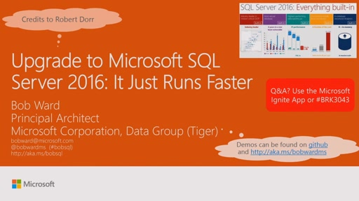 Upgrade to Microsoft SQL Server 2016: it just runs faster