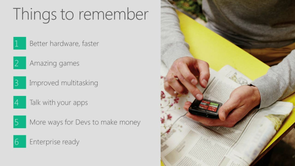 Developer Platform Summary - Kevin Gallo, Windows Phone 8
