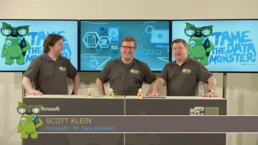 SQL Server Konferenz 2016 Welcomes Data Exposed
