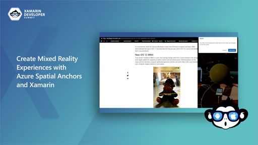 Create Mixed Reality Experiences with Azure Spatial Anchors and Xamarin