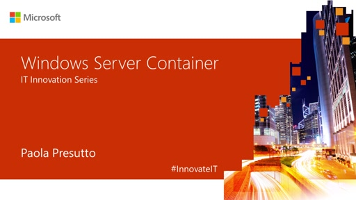 Windows Server Container