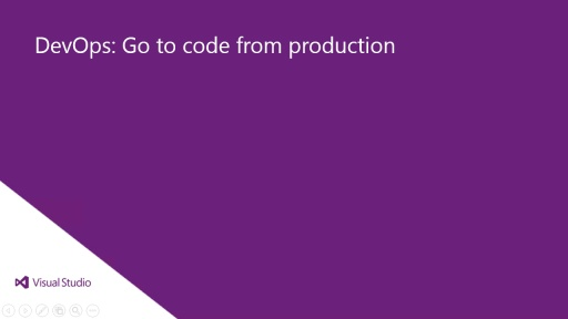 Go To Code From Production