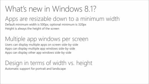 Windows 8.1 UX Design: (06) Windowing