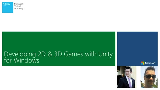 09 - MVA - Developing 2D & 3D Games with Unity3D for Windows - Connect your Unity game to Azure