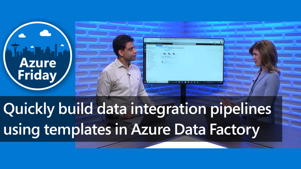 Quickly build data integration pipelines using templates in Azure Data Factory