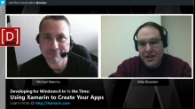 Microsoft DevRadio: Developing for Windows 8 in 1/2 the Time – Building Apps with Xamarin