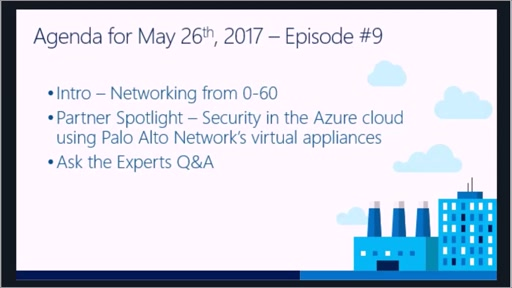 Microsoft Networking Academy 5/26/2017