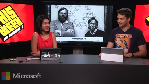 TWC9: Microsoft@40, Visual Studio Enterprise 2015, Bringing Build to you and more