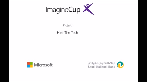 Imagine Weekend 2016 - Project: Hire The Tech #جييك16