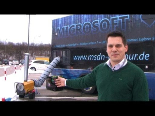 MSDN Bus Tour in Unterschleissheim