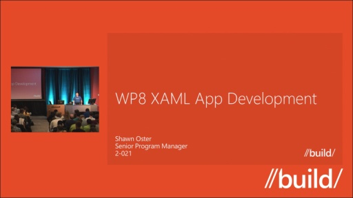 Windows Phone 8: XAML Application Development