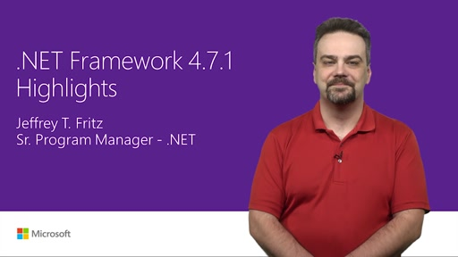 .NET Framework 4.7.1 improvements