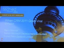 When CRM 2011 Goes Viral