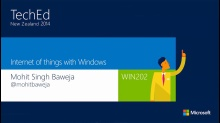 Internet of things with Windows