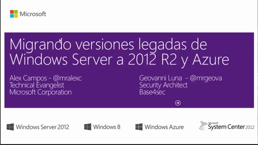 Módulo I - Fin del soporte a Windows Server 2003