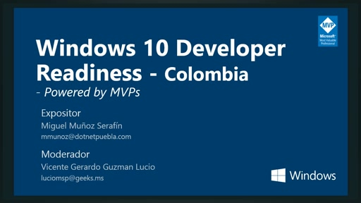 Windows 10 Developer Readiness [Colombia]